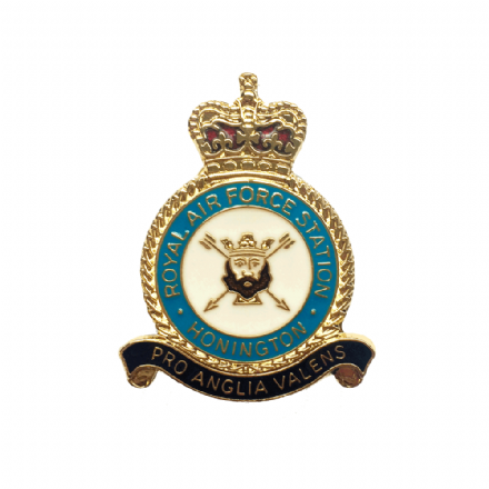 Royal Air Force RAF Station Honington Lapel Badge